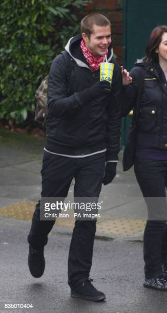 Daniel Wadham of Bromley southeast London arrives at Winchester Crown Court where he is due to be sentenced for blackmailing companies who supplied...