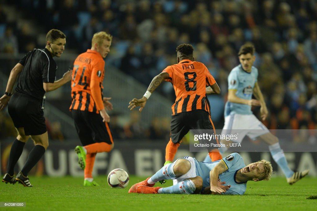 Celta Vigo v Shakhtar Donetsk - UEFA Europa League Round of 32: First Leg
