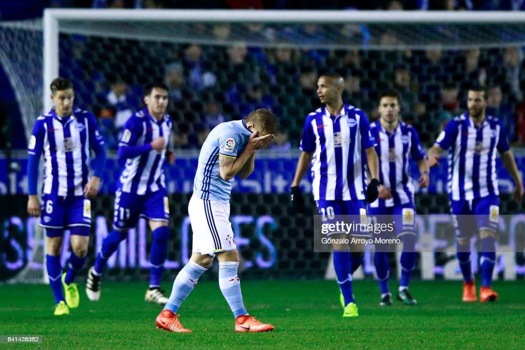 Deportivo Alaves vs RC Celta de Vigo - Copa Del Rey Semi-final: Second Leg
