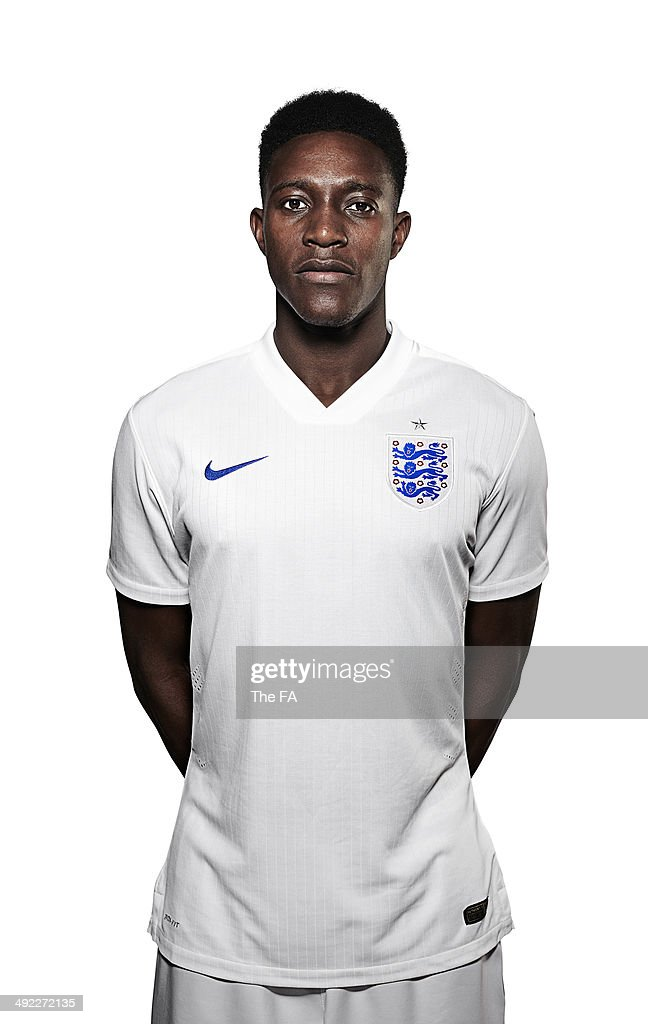 Daniel Welbeck of England poses for a portrait during an England Football Squad Portrait session ahead of the 2014 World Cup in Brazil.