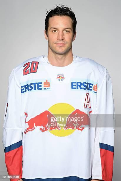 Daniel Welser of EC Red Bull Salzburg during the portrait shot September 16 2016 in Salzburg Austria