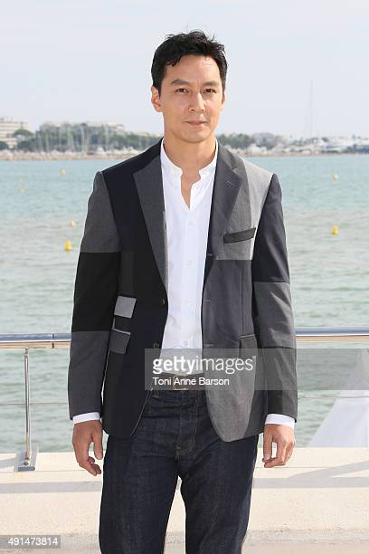 Daniel Wu attends 'Into The Badland' Photocall as part of MIPCOM 2015 on La Croisette on October 5 2015 in Cannes France