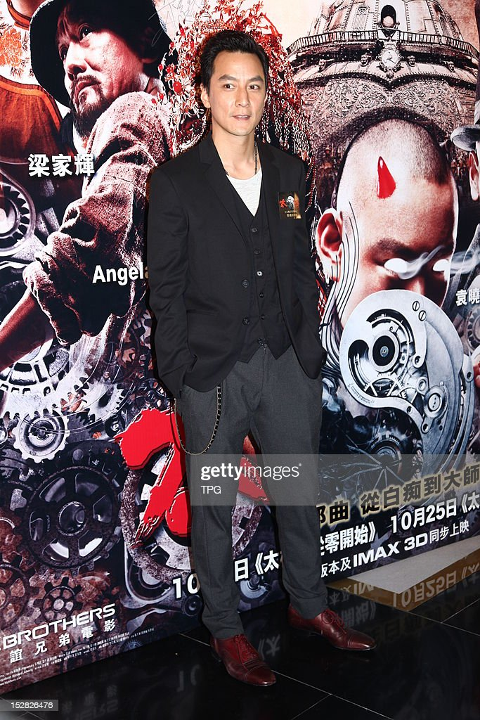 Daniel Wu attends press conference of Taichi 0 on September 26, 2012 in Hong Kong, China.