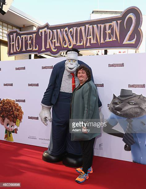 Daniel Zillmann arrives for the German premiere for the film 'Hotel Transsilvanien 2' at Zoo Palast on October 11 2015 in Berlin Germany