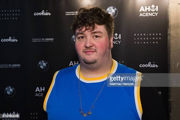 Daniel Zillmann attends the Ahoi Agency Apero as part of the 66th Berlinale International Film Festival at Cookies Mini Club on February 15 2016 in...