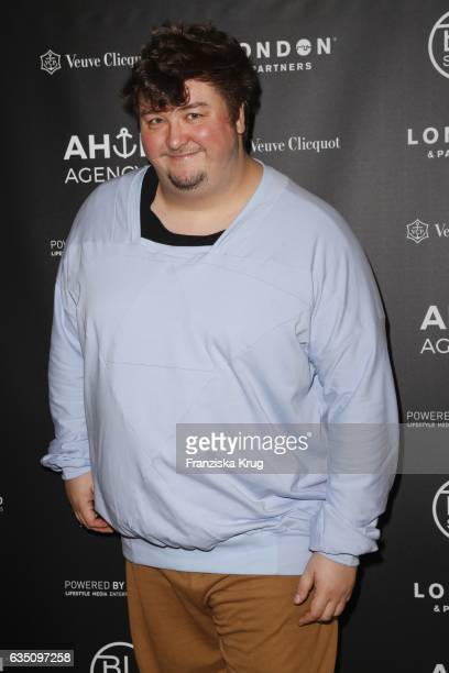Daniel Zillmann attends the Ahoi Agency Reception Tea Time And Champagne In Berlin Mitte on February 13 2017 in Berlin Germany