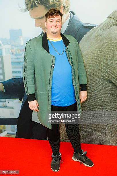 Daniel Zillmann attends the film premiere 'Der Fall Barschel' at Astor Film Lounge on January 28 2016 in Berlin Germany