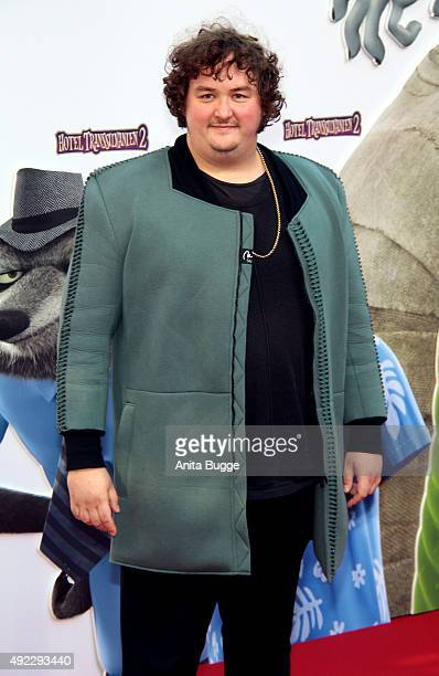 Daniel Zillmann attends the German premiere for the film 'Hotel Transsilvanien 2' at Zoo Palast on October 11 2015 in Berlin Germany