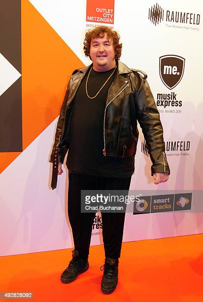Daniel Zillmann attends the Musikexpress Style Award 2015 on October 15 2015 in Berlin Germany