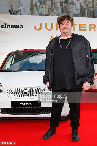 Daniel Zillmann attends the smart at the Jupiter Award 2016 in Berlin Germany