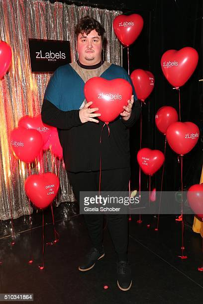 Daniel Zillmann during the 'Drunk In Love' Party hosted by Constantin Film and zLabels on February 14 2016 in Berlin Germany