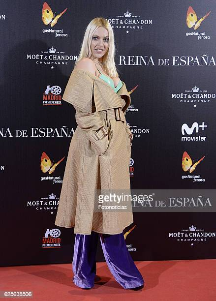 Daniela Blume attends 'La reina de Espana' Madrid premiere at Callao City Lights cinema on November 24 2016 in Madrid Spain