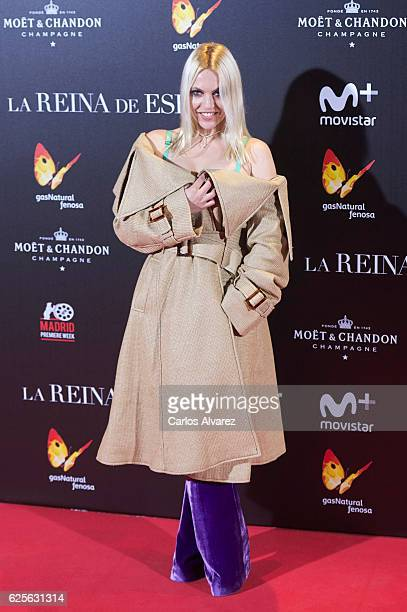 Daniela Blume attends 'La Reina de Espana' premiere at Callao City Lights on November 24 2016 in Madrid Spain
