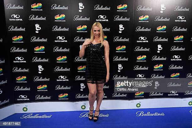Daniela Blume attends the '40 Principales Awards' Candidates presentation at the Kapital Club on October 8 2015 in Madrid Spain