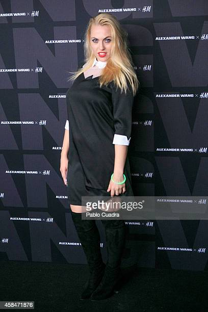 Daniela Blume attends the Alexander Wang X HM Party at 'But' Club on November 5 2014 in Madrid Spain