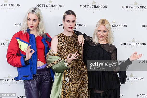 Daniela Blume attends the 'Moet Chandon' New Year's Eve party at Florida Retiro on November 29 2016 in Madrid Spain