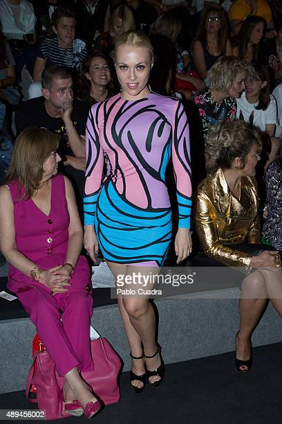 Daniela Blume is seen attending MercedesBenz Fashion Week Madrid Spring/Summer 2016 at Ifema on September 21 2015 in Madrid Spain