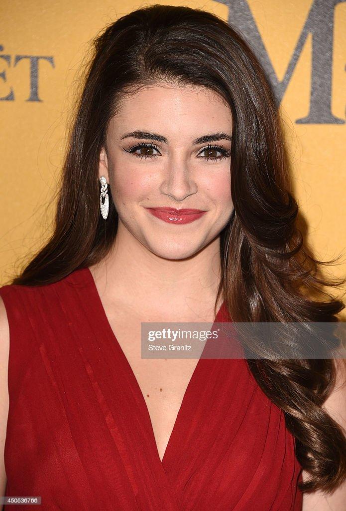 Daniela Bobadilla arrives at the Women In Film 2014 Crystal + Lucy Awards at the Hyatt Regency Century Plaza on June 11, 2014 in Century City, California.