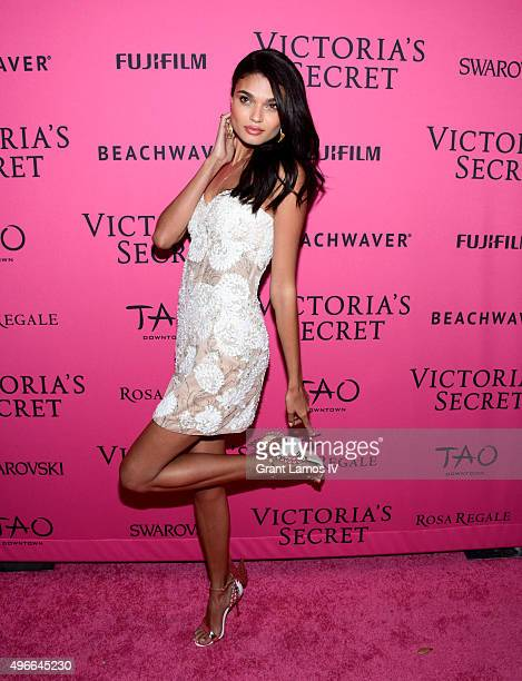 Daniela Braga attends the 2015 Victoria's Secret Fashion After Party at TAO Downtown on November 10 2015 in New York City
