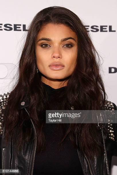 Daniela Braga attends the Diesel Madison Avenue Flagship Party at Academy Mansion on February 13 2016 in New York City