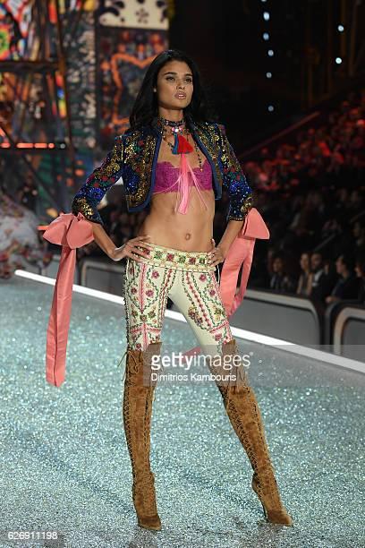 Daniela Braga walks the runway during the 2016 Victoria's Secret Fashion Show on November 30 2016 in Paris France