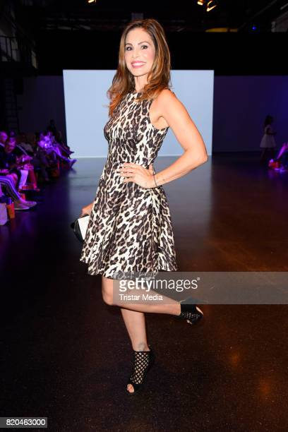 Daniela Dany Michalski attends the Breuninger show during Platform Fashion July 2017 at Areal Boehler on July 21 2017 in Duesseldorf Germany