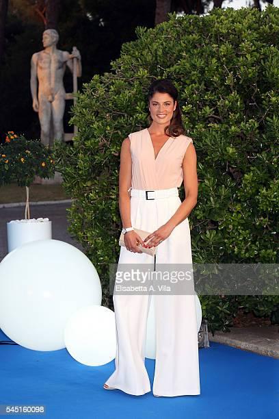 Daniela Ferolla attends the Rai Show Schedule Presentation at Salone Delle Fontane on July 5 2016 in Rome Italy