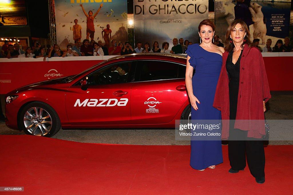 Daniela Giordano and Anna Bonaiuto attend the 'Buoni A Nulla' Red Carpet during The 9th Rome Film Festival at Auditorium Parco Della Musica on...