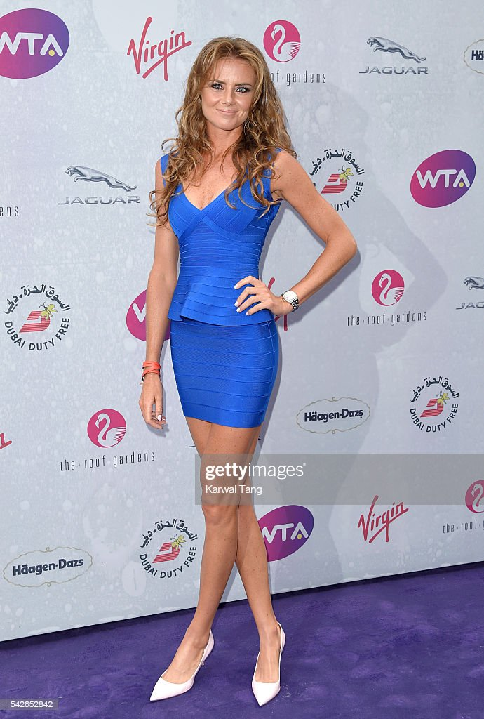 <a gi-track='captionPersonalityLinkClicked' href=/galleries/search?phrase=Daniela+Hantuchova&family=editorial&specificpeople=201969 ng-click='$event.stopPropagation()'>Daniela Hantuchova</a> arrives for the WTA Pre-Wimbledon Party at Kensington Roof Gardens on June 23, 2016 in London, England.