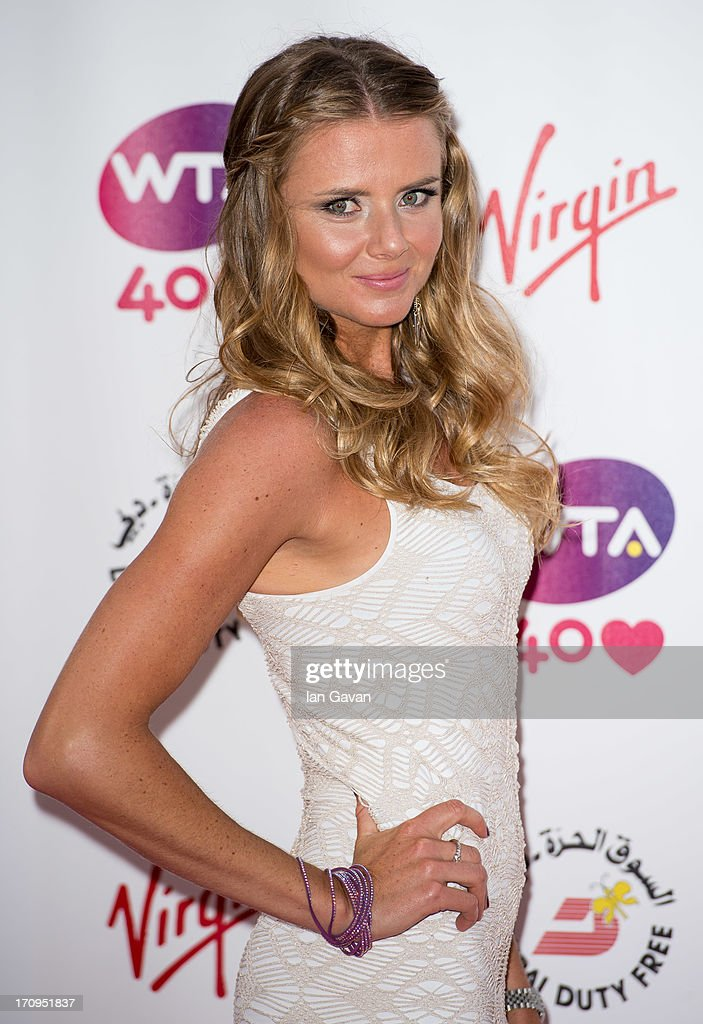 <a gi-track='captionPersonalityLinkClicked' href=/galleries/search?phrase=Daniela+Hantuchova&family=editorial&specificpeople=201969 ng-click='$event.stopPropagation()'>Daniela Hantuchova</a> attends the annual pre-Wimbledon party at Kensington Roof Gardens on June 20, 2013 in London, England.