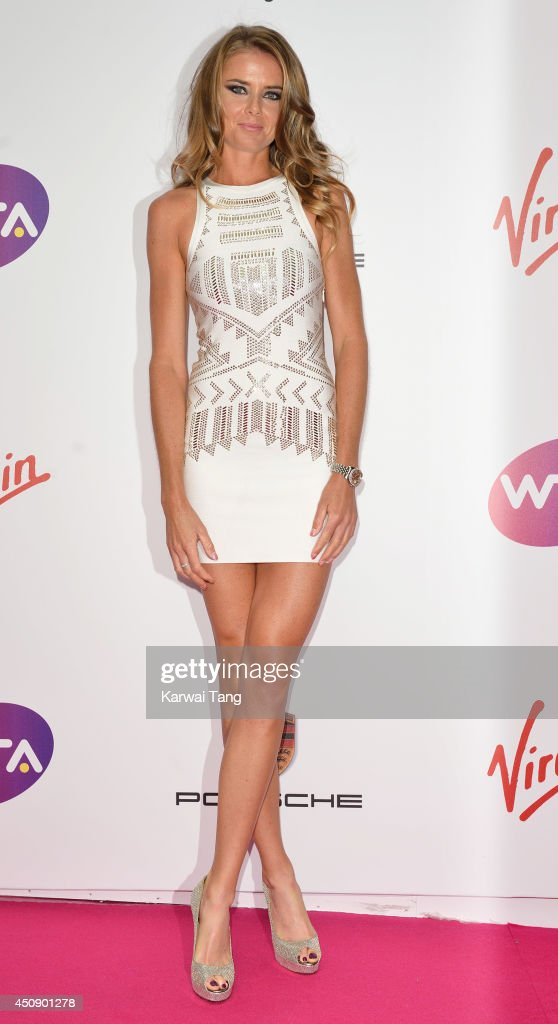 Daniela Hantuchova attends the WTA Pre-Wimbledon party at Kensington Roof Gardens on June 19, 2014 in London, England.