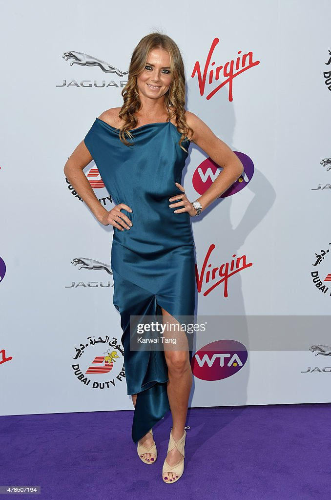 Daniela Hantuchova attends the WTA Pre-Wimbledon Party at Kensington Roof Gardens on June 25, 2015 in London, England.