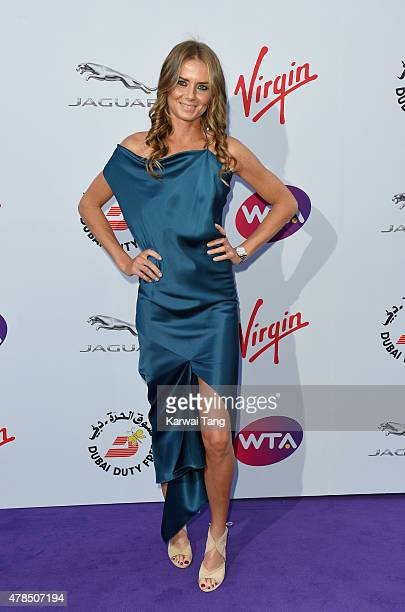 Daniela Hantuchova attends the WTA PreWimbledon Party at Kensington Roof Gardens on June 25 2015 in London England