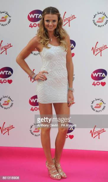 Daniela Hantuchova attends the WTA PreWimbledon Party at The Roof Gardens Kensington High Street London