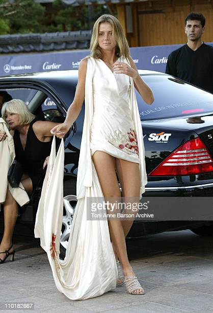 Daniela Hantuchova during 2003 Laureus World Sports Awards Arrivals at Grimaldi Forum in Monte Carlo Monaco