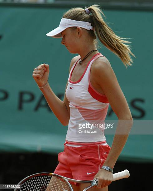 Daniela Hantuchova of Slovokeadefeats Nathalie Dechy of France 63 36 108 in the third round of the2006 French Open in Paris France on June 2 2006