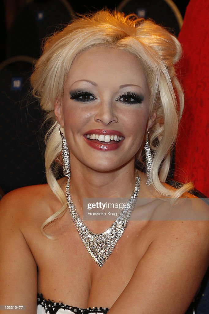 Daniela Katzenberger attends the German TV Award 2012 (Deutscher Fernsehpreis 2012) at Coloneum on October 2, 2012 in Cologne, Germany.