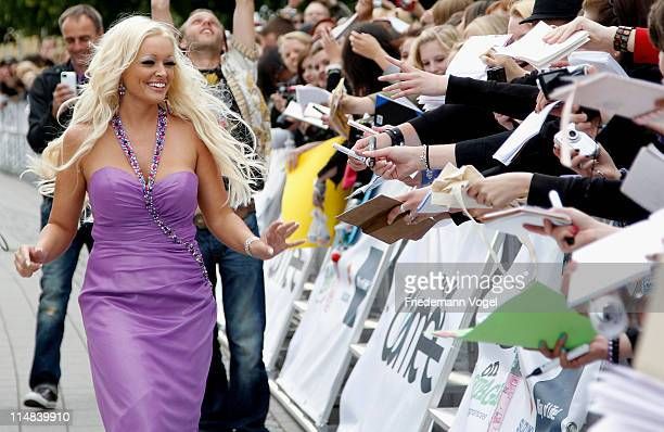 Daniela Katzenberger attends the VIVA Comet 2011 Awards at KoenigPilsner Arena on May 27 2011 in Oberhausen Germany