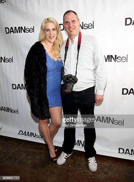 Daniela Kirsch and Steve Eichner attend the Presentation Fall 2016 New York Fashion Week at Openhouse Gallery on February 12 2016 in New York City