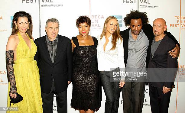 Daniela Lavender Tribeca Film Festival CoFounder Robert De Niro Grace Hightower singer/actress Mariah Carey producer Lee Daniels and actor Ben...