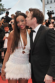 Daniela Le Bihan and Samuel Le Bihan at the premiere for 'Amour' during the 65th Cannes International Film Festival