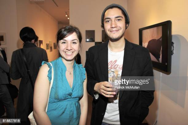 Daniela Libertad and Sebastien Pnaud attend NYU Steinhardt MFA Thesis Exhibitions at 80WSE Gallery on April 6 2010 in New York City