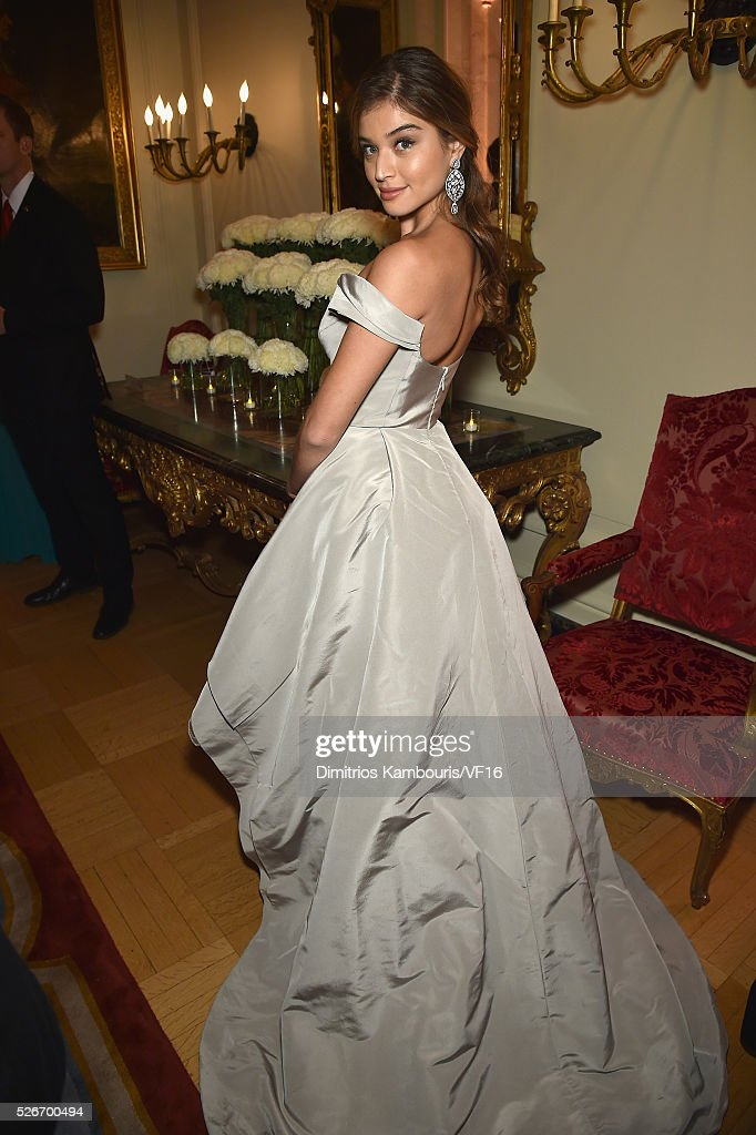 Daniela Lopez attends the Bloomberg & Vanity Fair cocktail reception following the 2015 WHCA Dinner at the residence of the French Ambassador on April 30, 2016 in Washington, DC.