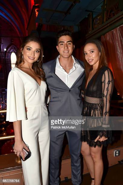 Daniela Lopez Mateo Lopez and Angela Osorio attend the Many Hopes Spring Ball at The Angel Orensanz Foundation on May 11 2017 in New York City