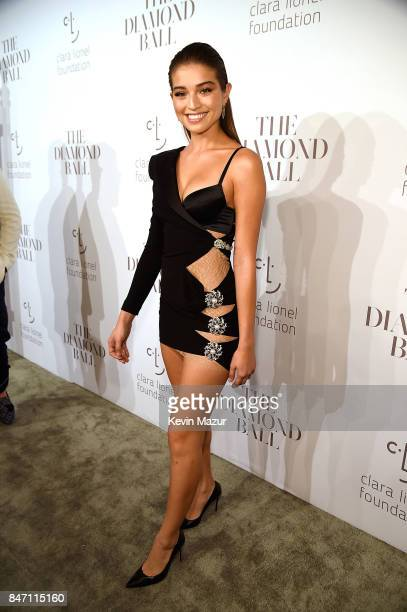 Daniela Lopez Osorio attends Rihanna's 3rd Annual Diamond Ball Benefitting The Clara Lionel Foundation at Cipriani Wall Street on September 14 2017...