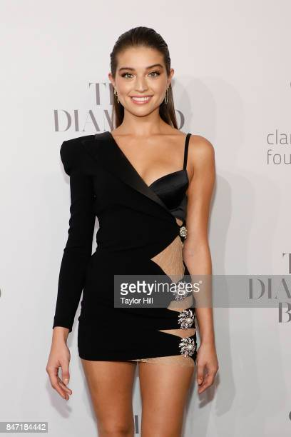 Daniela Lopez Osorio attends the 3rd Annual Diamond Ball at Cipriani Wall Street on September 14 2017 in New York City