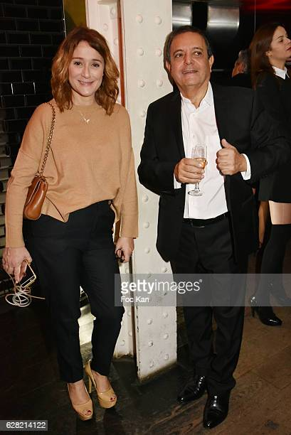 Daniela Lumbroso and Edouard Nahum attend 'Black Whyte Party' by Edouard Nahum to celebrate his new Jewellery store in Aspen Colorado At VIP Room...