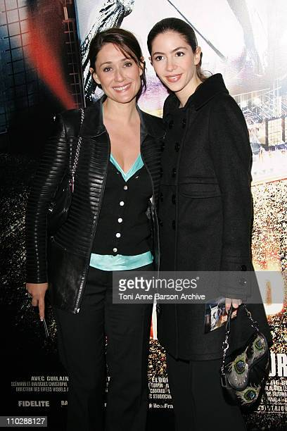 Daniela Lumbroso and guest during 'JeanPhilippe' Paris Premiere Arrivals at UGC Normandy in Paris France