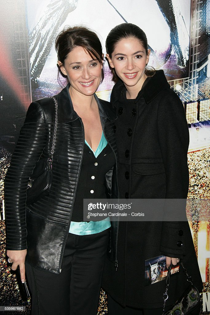 Daniela Lumbroso and Yael Boon attend the premiere of 'Jean-Philippe' in Paris.