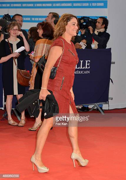 Daniela Lumbroso arrives at the 'Get On Up' Premiere And Tribute To Brian Grazer 40th Deauville American Film Festival at the CID on September 12...